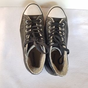 Converse Shoes - Converse  Chuck Taylor High Top Leather Sneakers